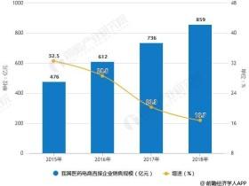 2019年中国医药电商行业市场现状及发展趋势分析 信息化+大数据技术带来发展机遇